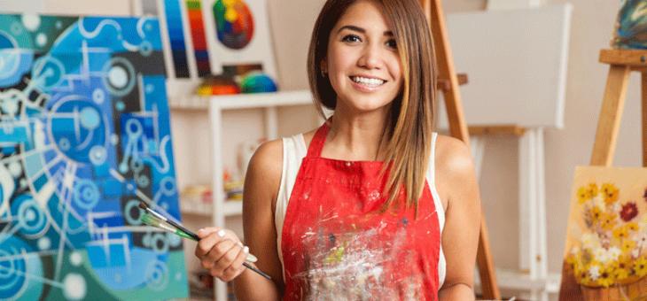 Devenir artiste : la passion avant tout