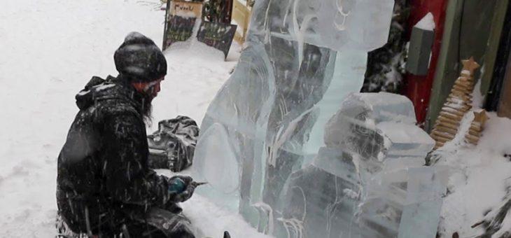 L'activité qu'est la sculpture sur glace